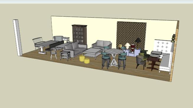furniture diplay