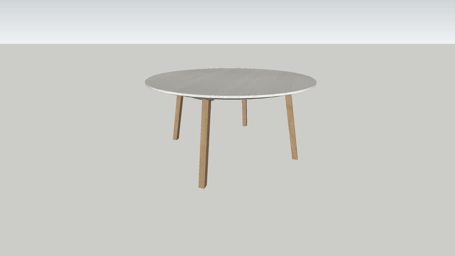 Tafel DRONE rond 1500mm 4 poten/ Table DRONE round 1500mm 4 legs
