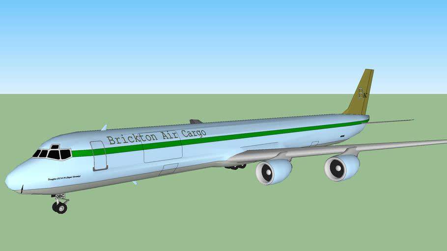 Brickton Air Cargo Douglas DC-8-70F