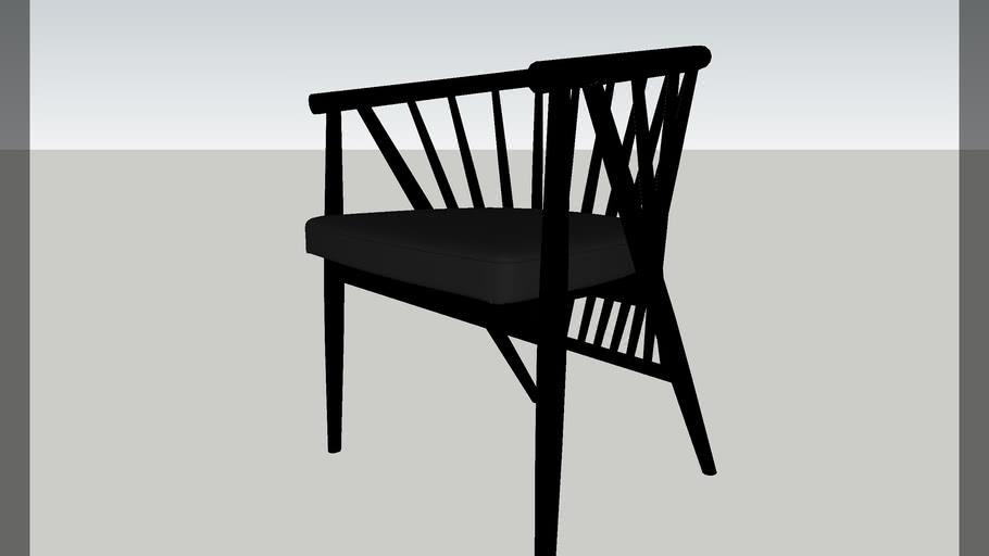 F01-Oriental Style Arm Chair