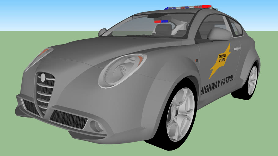 Grizzly State Highway Patrol Alfa Romeo MiTo