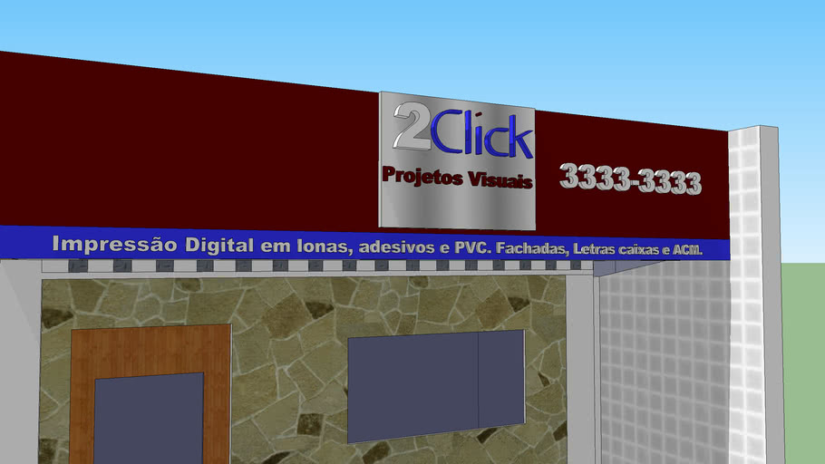 fachada da 2click