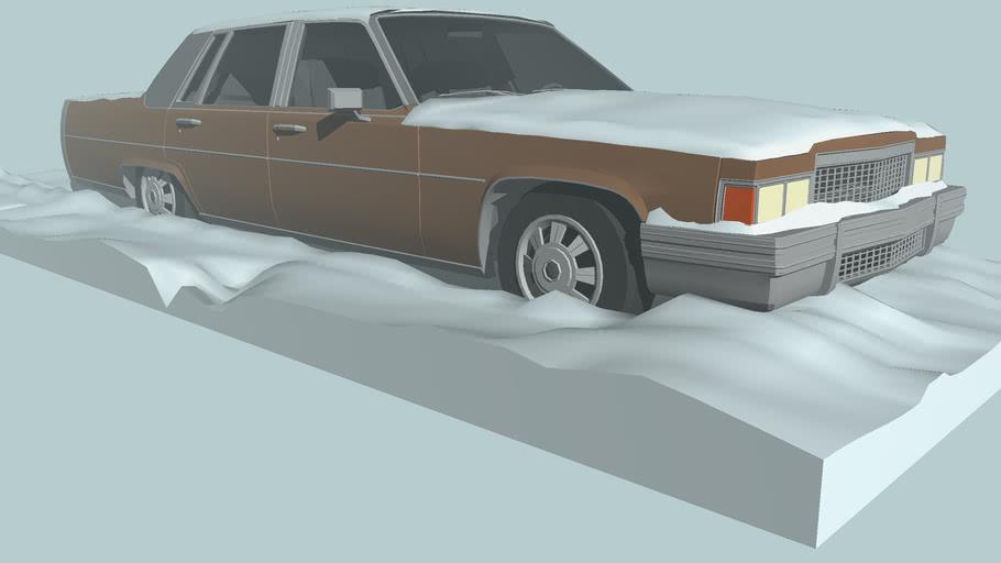 GTA V Albany Emperor with snow