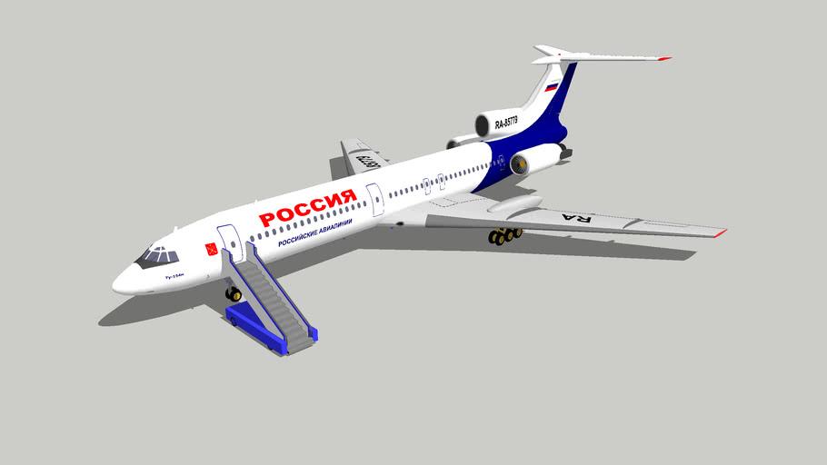 Ту-154м Россия