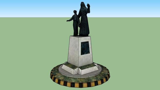 Sehitkamil heykeli