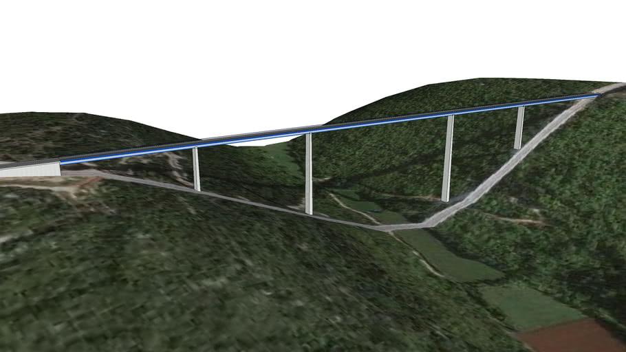 Viaduct ,,Limska Draga,,