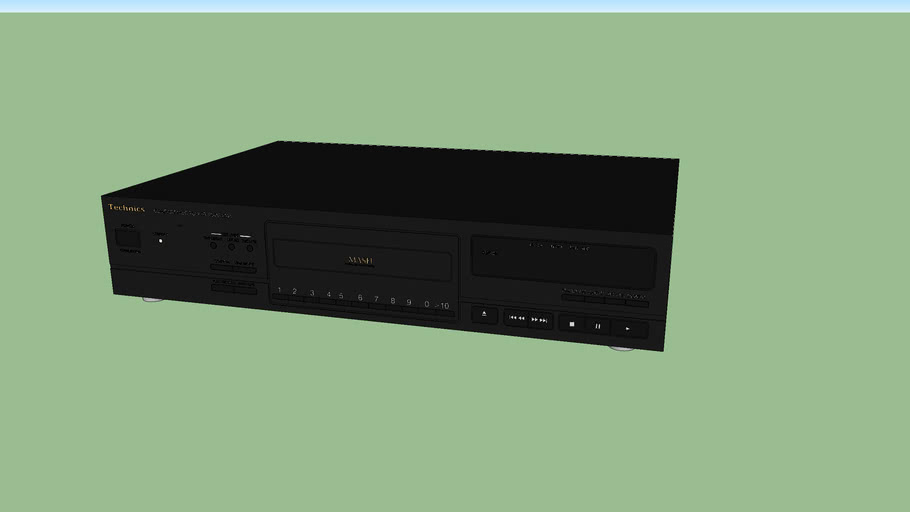 Technics CD Player (SL-PG470A)