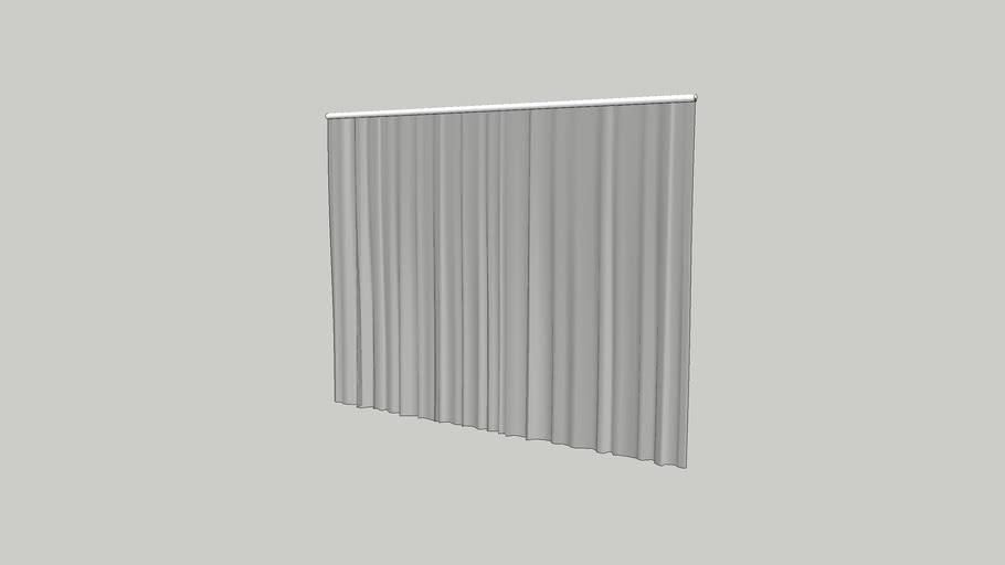 Soft Curtain 2.0m width x 1.5m Height