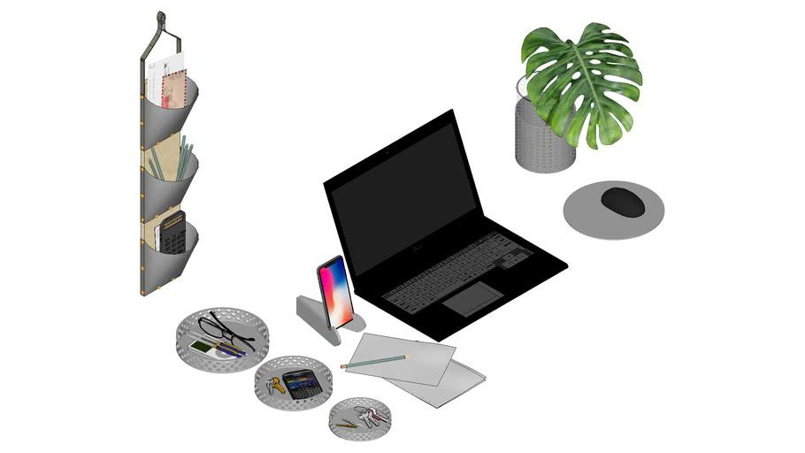 Decor Mousepad Organizador Notebook