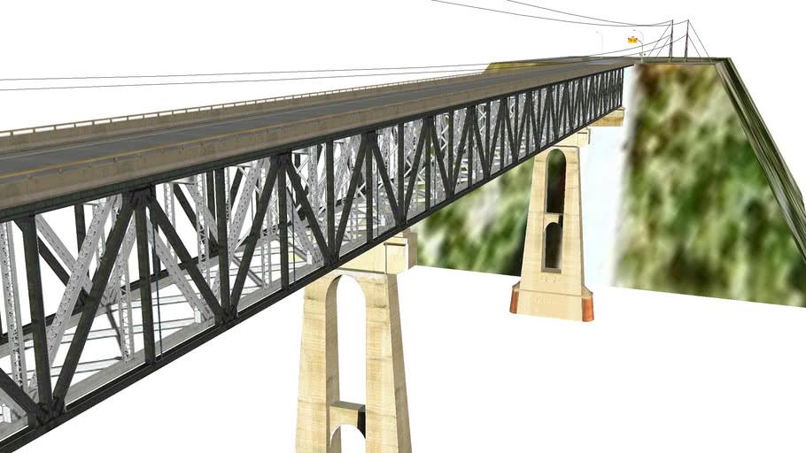 East Pine River Car Bridge