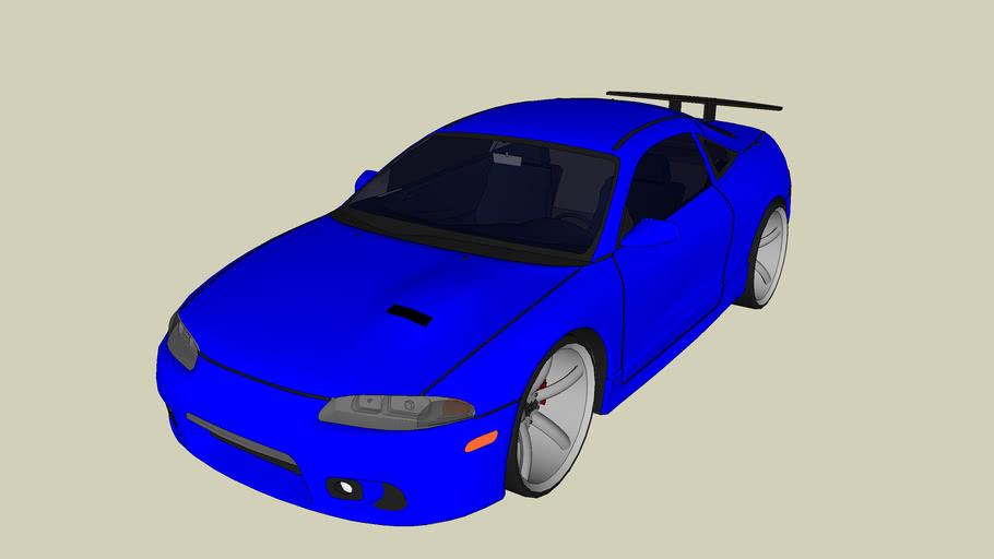 Mitsubishi Eclipse tuned