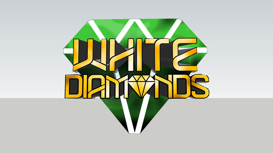 white diamonds sign