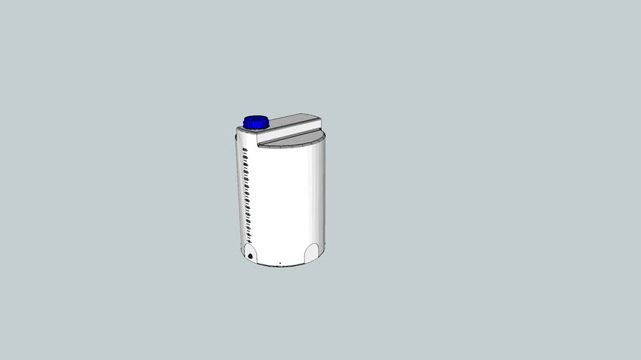 dosingtank 300 litre, type FD-C 300