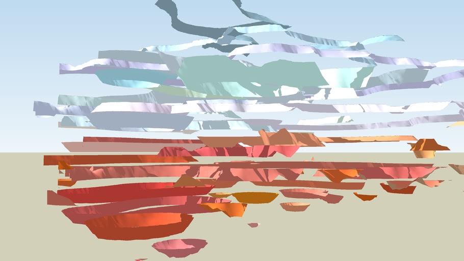 Abstract Western Landscape