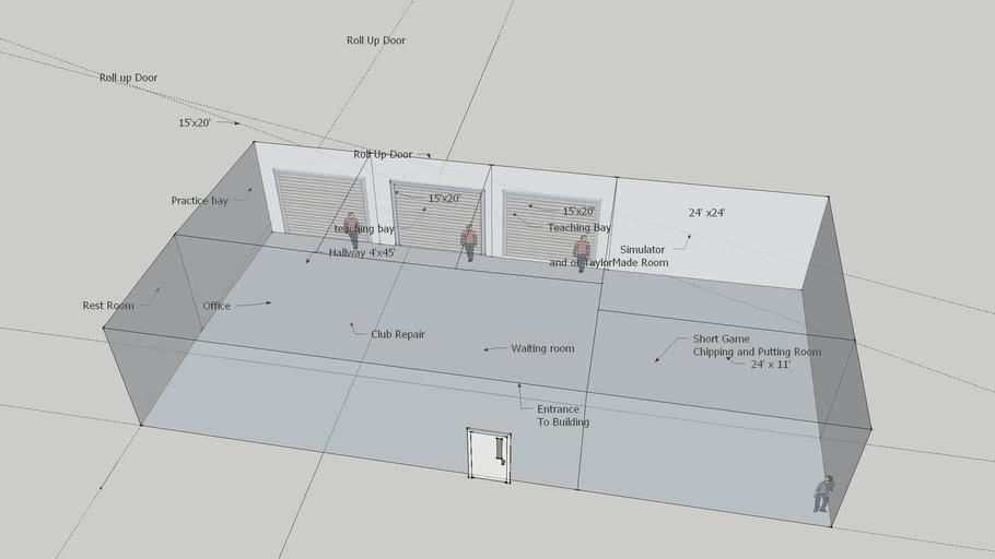 Bellwood Location Teaching Building Floor Layout