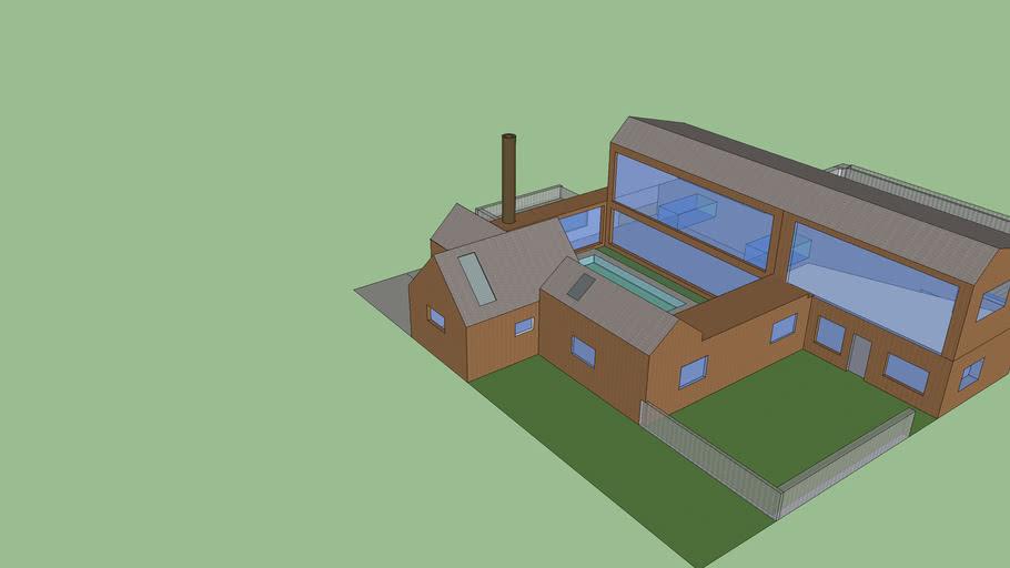 Model Barn House