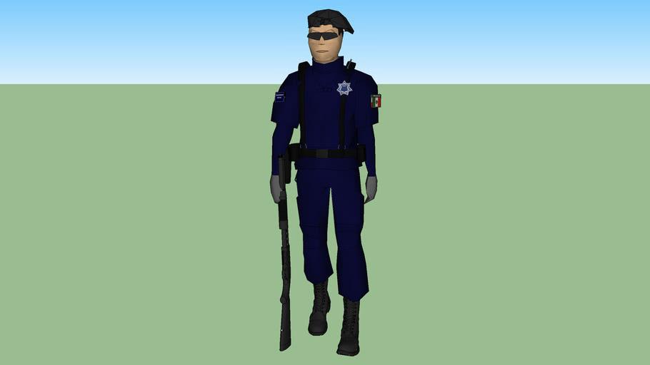 policia municipal escolta