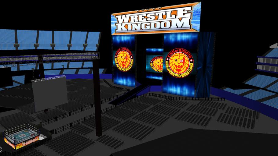 NJPW WrestleKingdom at Tokyo Dome v2 (includes locker room)