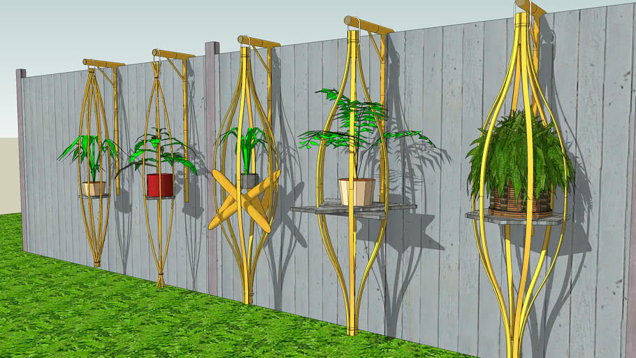 more bamboo plant hangers