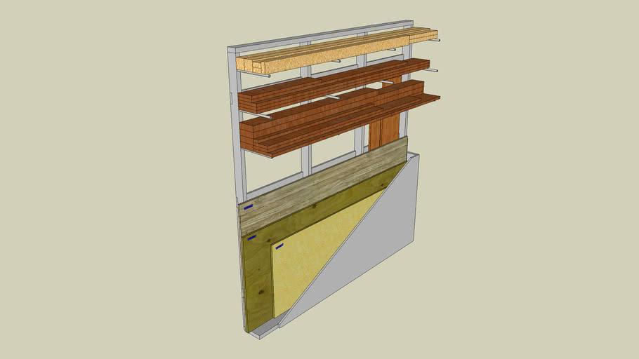 Wood Storage Rack