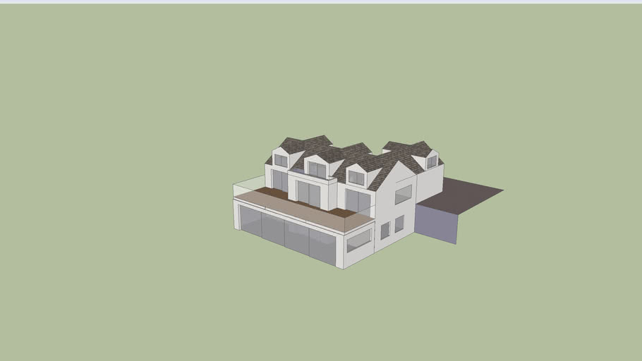 House Roof and Extension