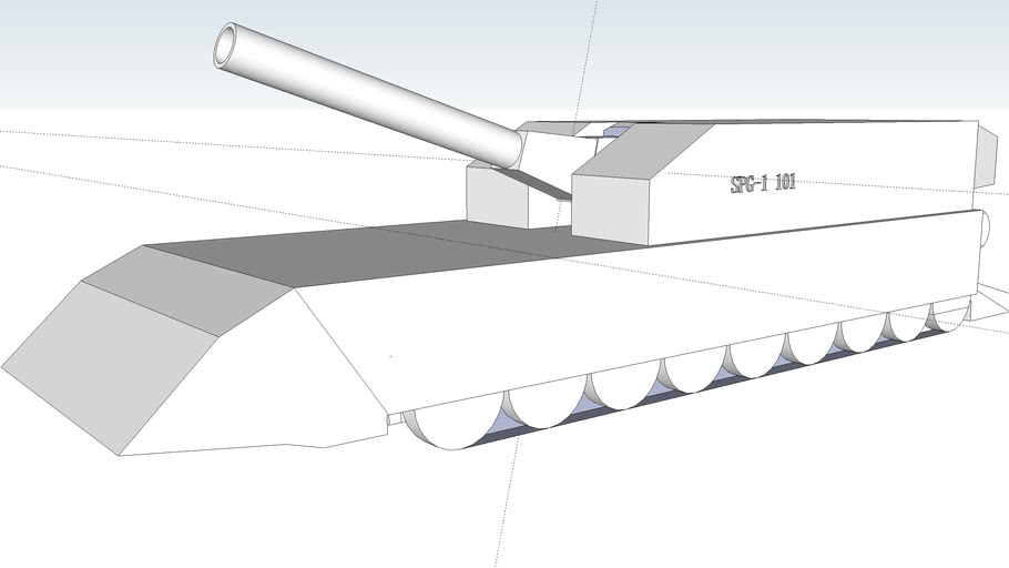 Az2080-400mm self-propelled Mortar 400mm