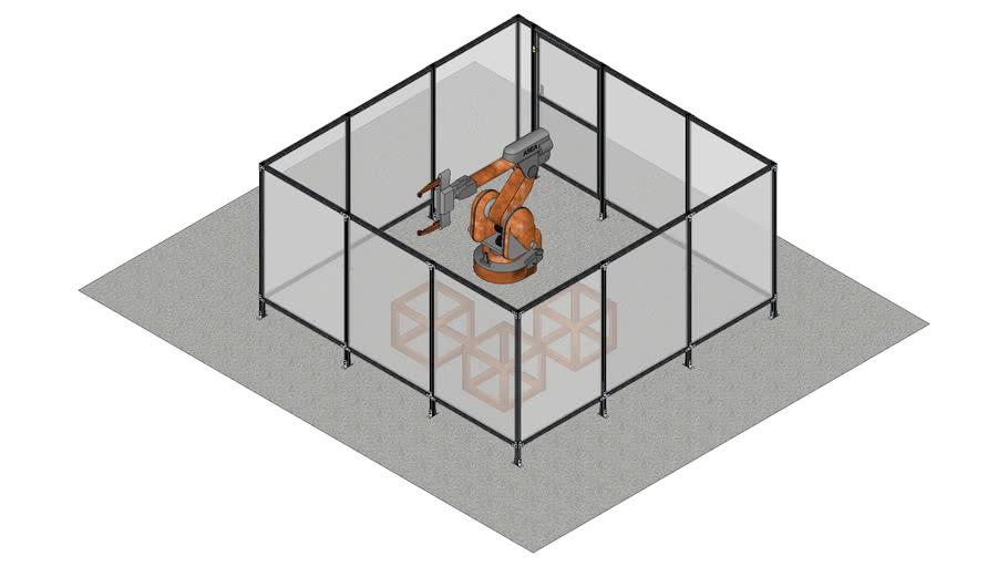 12' x 12' x 6' polycarbonate enclosure