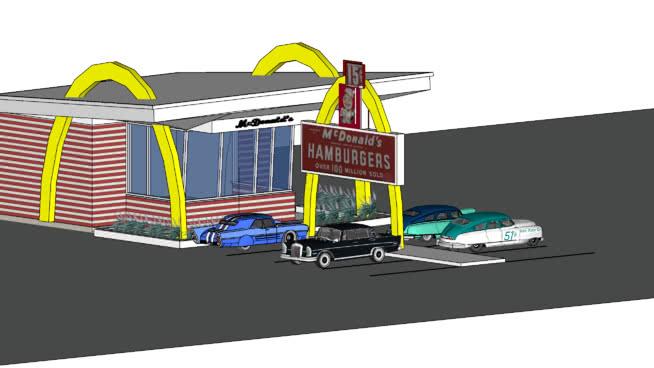 McDonalds - Retro