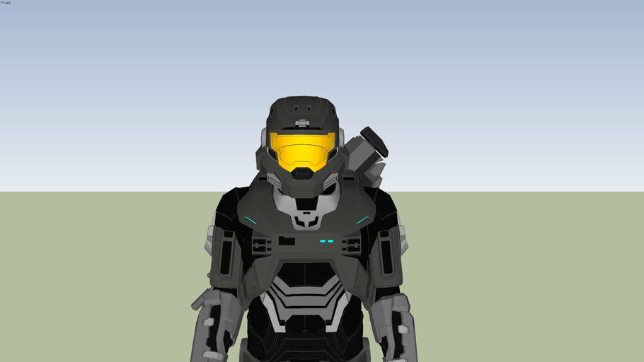 noble six default armor