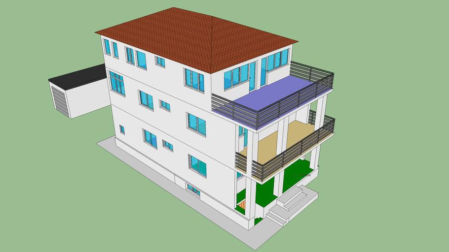 3D model kuće (izilic)