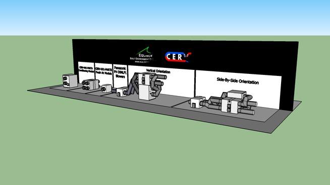 CERV (Conditioning Energy Recovery Ventilator)