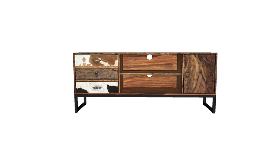 79151 TV Console Rodeo 3Drw 2 Doors (TV Konsole Rodeo 3SK 2trg)