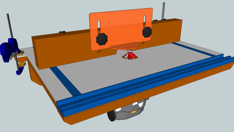 Clamp On Router Table