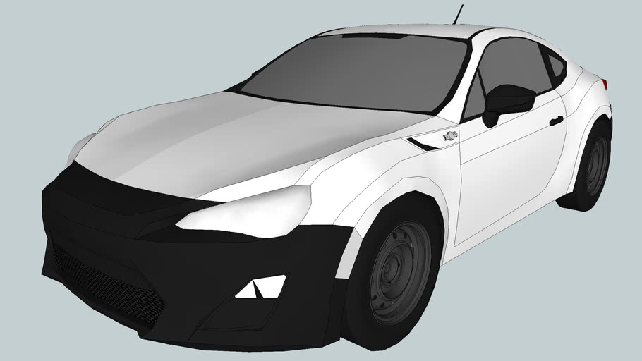 2013 Toyota 86/GT86 RC (Low Poly)