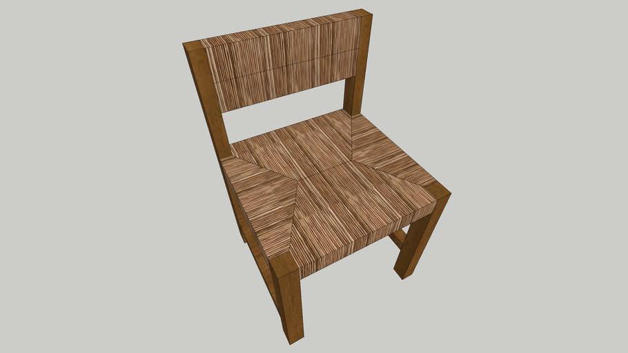 pottery barn malibu woven dining chair