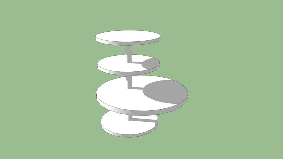 side table, mesa de canto Philip Edis