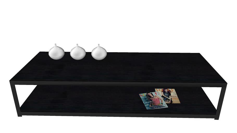 VAN Two Salontafel Wengé 180x70x37