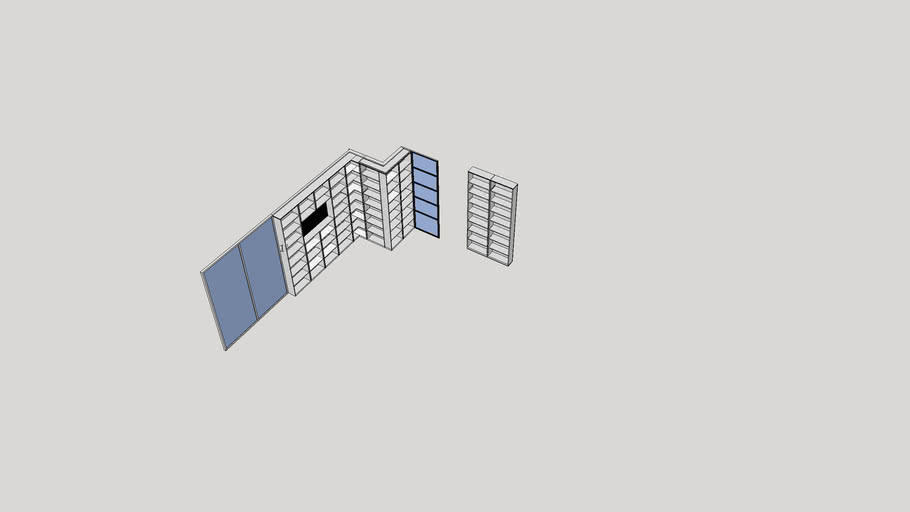 Tall Bookcase for Index