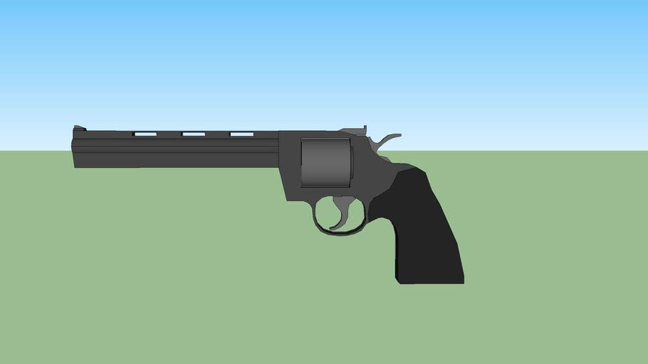 COLT Annaconda revolver pistol 2016 DEMO