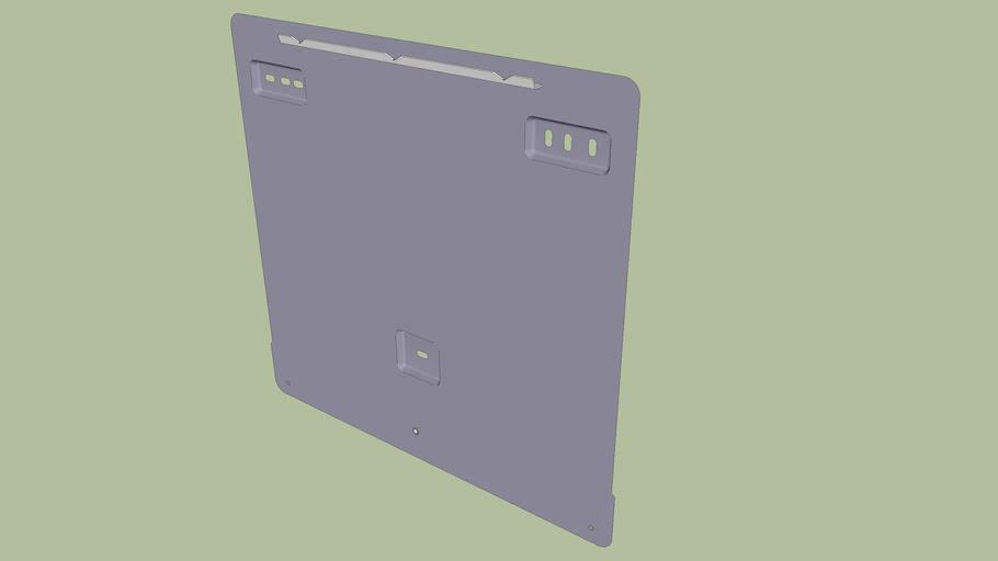 Montageplatte für Wechselrichter vom Typ SMA Tripower 17000TL
