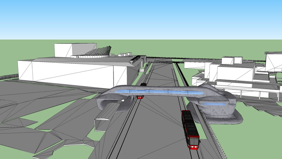 Train Station model by Jason