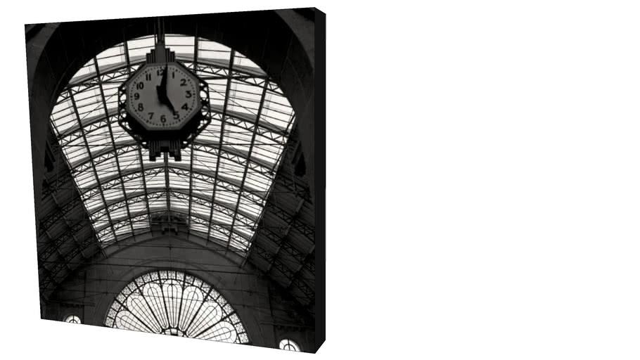 Quadro Dorival Moreira - Coleção Paris: Horloge