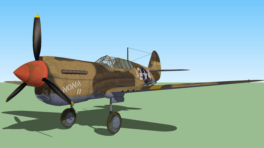 The Tuskegee's P-40's
