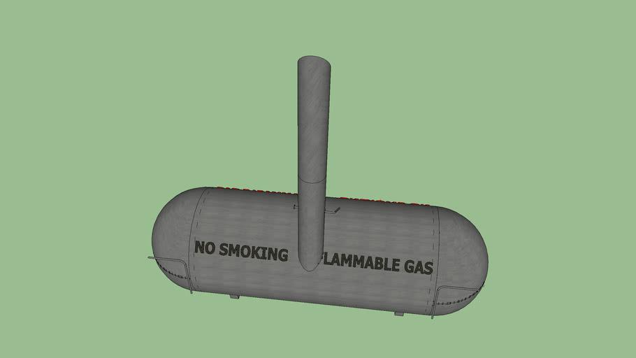 500 Gallon Smoker