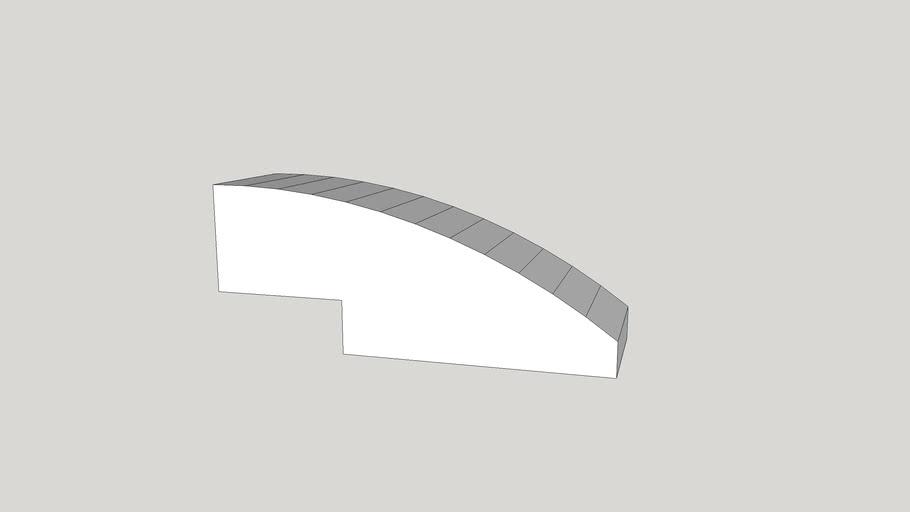 sketch Up block model part 5