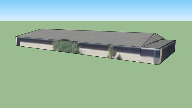 Building in Hopkinson Elementary School in Los Alamitos, CA 90720, USA