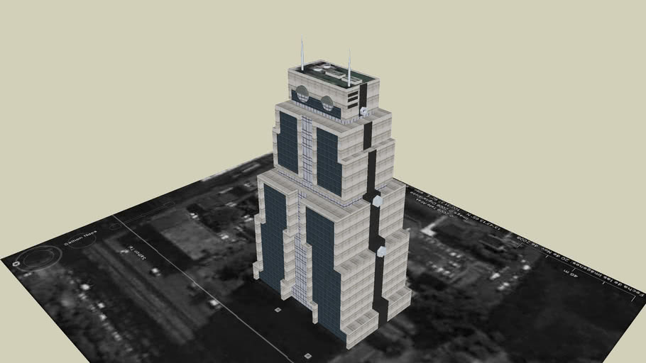 The Bank of Asia a.k.a Robot Building Bangkok Thailand