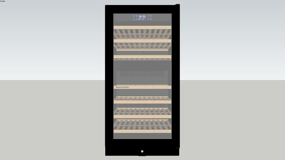 Adega Vetro 87 Garrafas Dual Zone Built-In