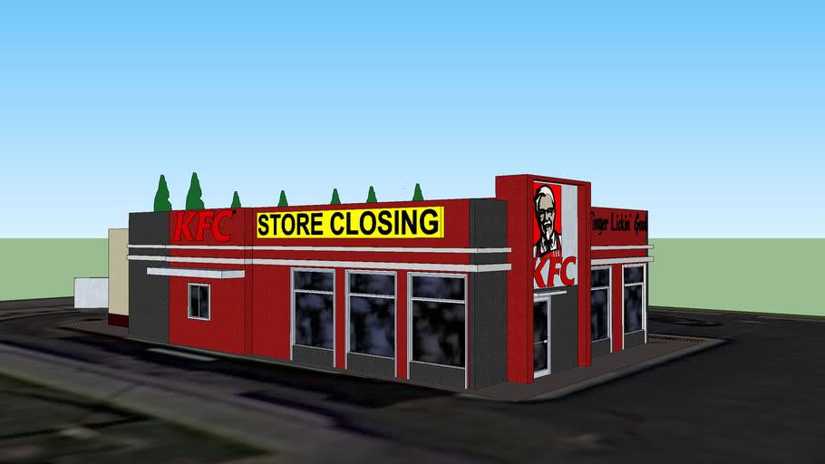 KFC Restaurant Sneak-Peak and Closing