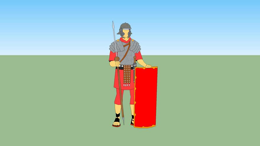 2D Roman Soldier
